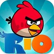 Carátula de Angry Birds Rio - Android