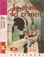 Carátula de La Abadía del Crimen - Spectrum
