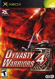Carátula de Dynasty Warriors 4 - XBOX