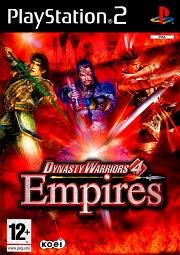 Carátula de Dynasty Warriors 4: Empires - PS2