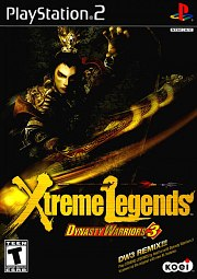 Carátula de Dynasty Warriors 3: Xtreme Legends - PS2