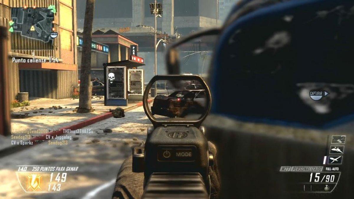 video de call of duty black ops 2 gameplay punto. Black Bedroom Furniture Sets. Home Design Ideas