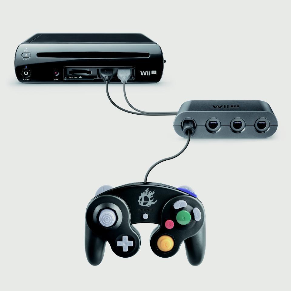 Los mandos de GameCube funcionarán en Wii U gracias a un adaptador