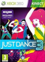 Carátula de Just Dance 3 - Xbox 360