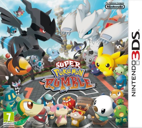 Super Pokemon Rumble Para 3ds 3djuegos