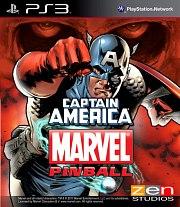 Carátula de Pinball FX 2: Captain America - PS3