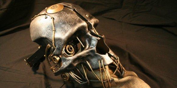 Máscara de Dishonored realizada por Technically Magic Effects