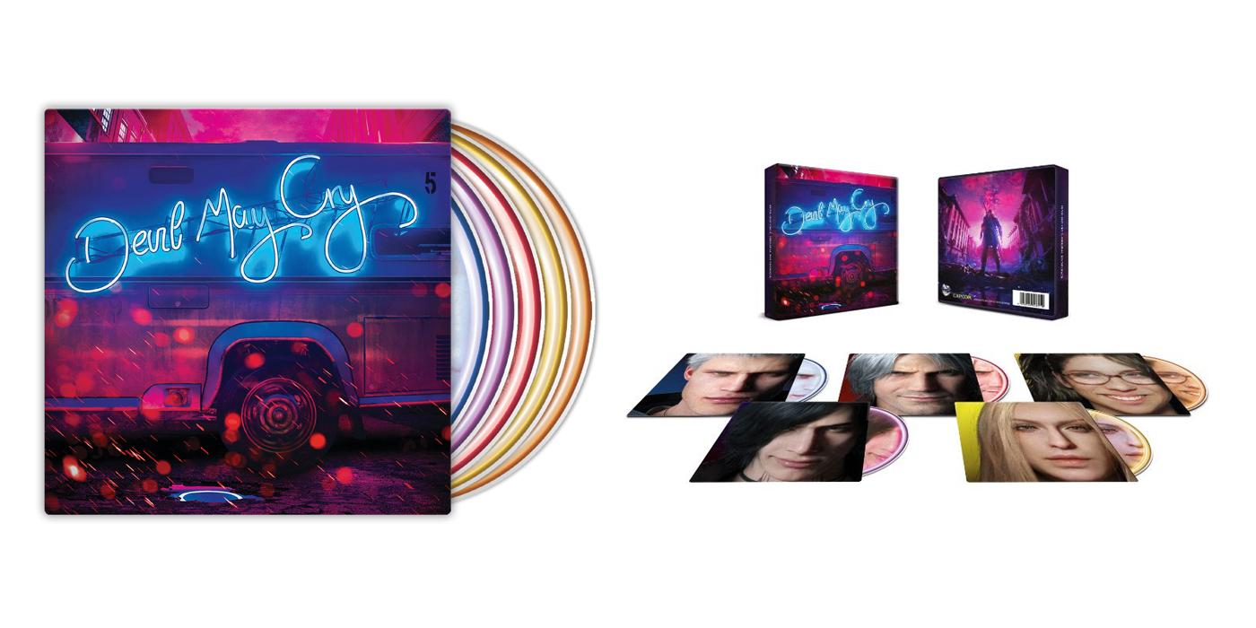 La brillante banda sonora de Devil May Cry 5 se pasa al vinilo