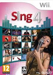 Carátula de Sing 4 - Wii