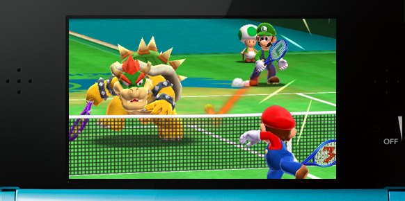Mario Tennis Open: Mario Tennis Open: Impresiones jugables