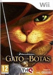 Carátula de El Gato con Botas - Wii