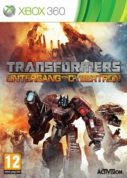Carátula de Transformers: La Caída de Cybertron - Xbox 360