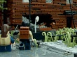 Enorme reconstrucción de The Last of Us con Lego