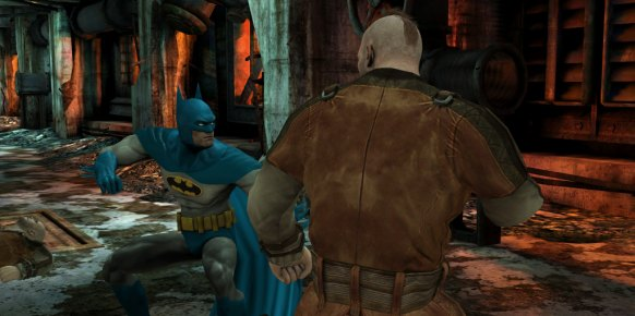 Batman Arkham City Lockdown an�lisis