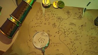 Registra el lugar donde se encuentra la lupa en la pantalla de carga del mapa del tesoro de Fortnite