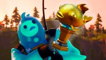 El pez dorado de Fortnite resulta ser un arma formidable. ¡Cuidado con ella!
