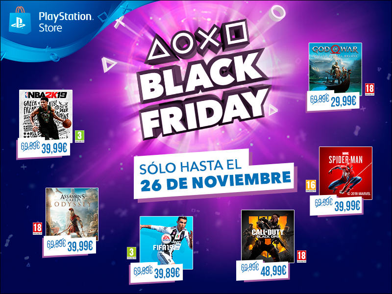 PlayStation se adelanta al Black Friday con grandes ofertas