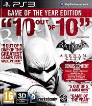 Carátula de Batman Arkham City: GOTY - PS3
