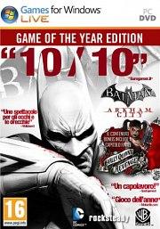 Carátula de Batman Arkham City: GOTY - PC