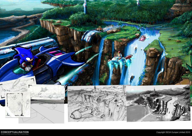 Descubren dos proyectos cancelados de Sonic: uno de fútbol y otro de lucha
