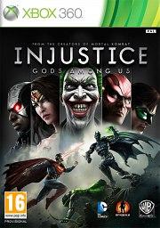Carátula de Injustice: Gods Among Us - Xbox 360