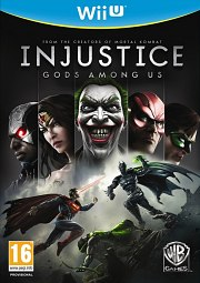 Carátula de Injustice: Gods Among Us - Wii U