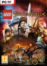 Car�tula oficial de LEGO El Se�or de los Anillos PC