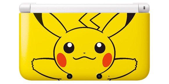 3DS XL Edición Especial Pikachu