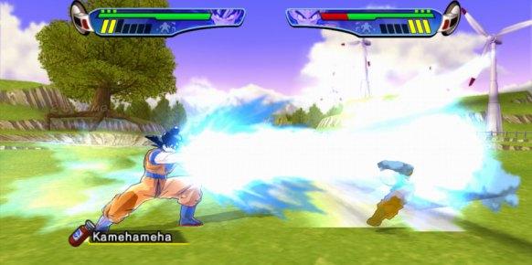 Dragon Ball Z Budokai HD: Dragon Ball Z Budokai HD: Primer contacto