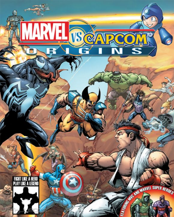Marvel vs. Capcom Origins para PS3 - 3DJuegos