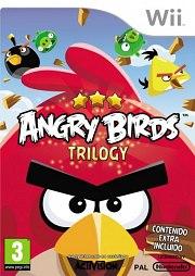 Carátula de Angry Birds Trilogy - Wii