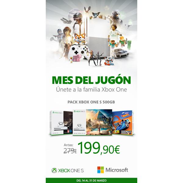 Xbox One concreta más ofertas para el Mes del Jugón