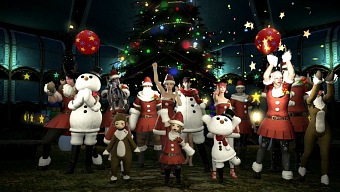 Video Final Fantasy XIV: A Realm Reborn, Celebra la Navidad en Eorzea