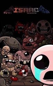 Carátula de The Binding of Isaac: Rebirth - 3DS