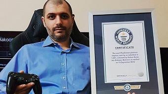 Nuevo récord mundial de trofeos platinos de PlayStation