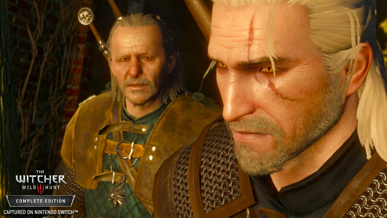 The Witcher III en Nintendo Switch frente a la versión de PS4