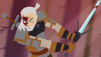 Samurai Witcher: el corto que mezcla a Geralt con Samurai Jack
