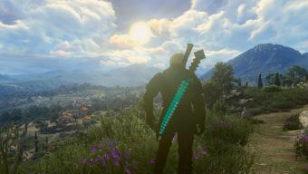 Un nuevo mod de The Witcher 3 permite a Geralt empuñar la mítica espada de Minecraft