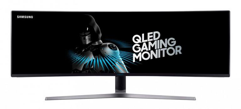 Samsung presenta el monitor para juegos más grande del mundo