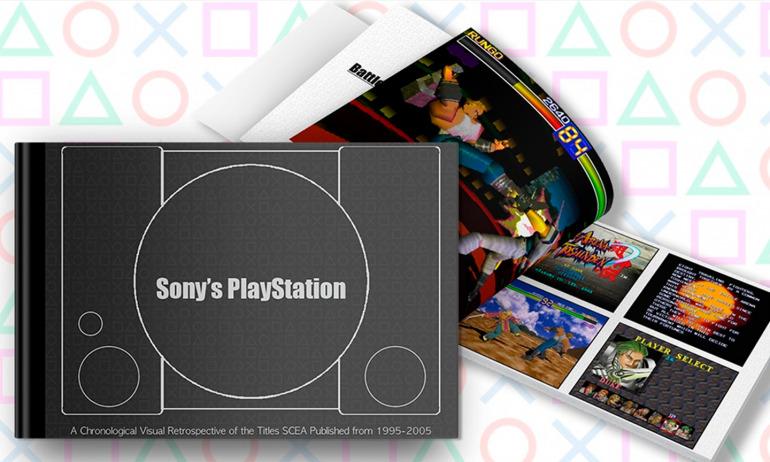La primera PlayStation y sus juegos son protagonistas de un libro que llega a Kickstarter