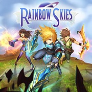 Carátula de Rainbow Skies - Vita