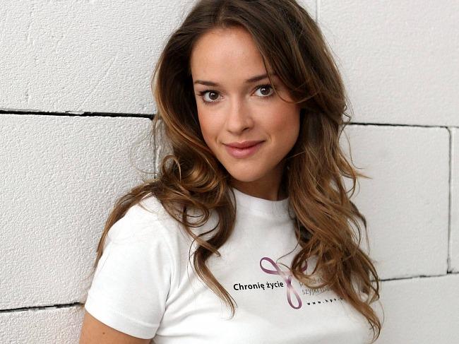 La actriz Alicja Bachleda-Curus