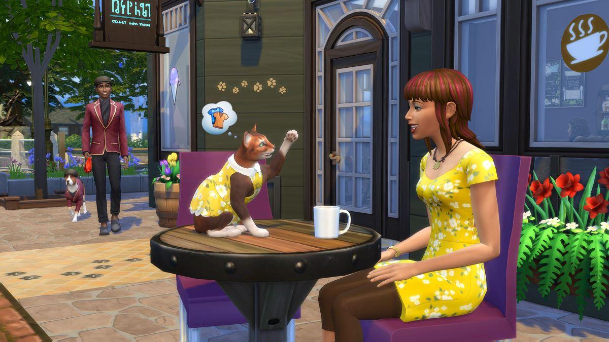 Los Sims 4 pone fecha a su pack de accesorios Mi Primera Mascota