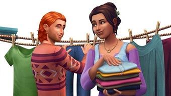 Video Los Sims 4, Los Sims 4: Día de Colada - Pack de Accesorios