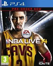 Carátula de NBA Live 14 - PS4